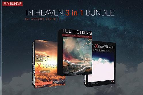 In Heaven  3 in 1  - BUNDLE  PACK