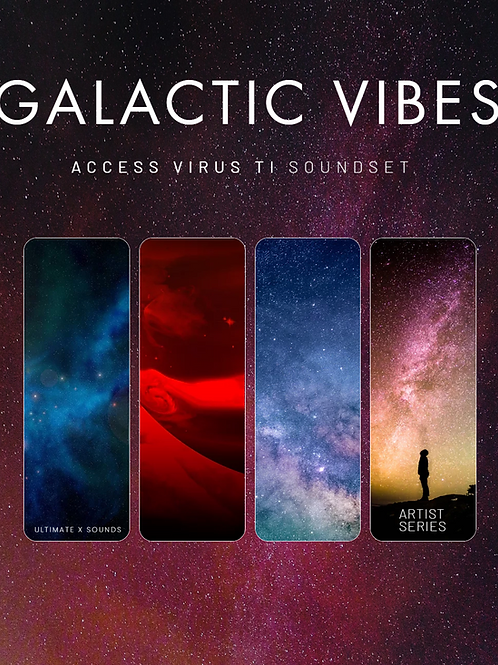 Galactic Vibes Vol.1 Access Virus Ti Soundset