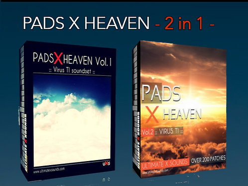 PADS X HEAVEN - 2 in 1 - BUNDLE PACK