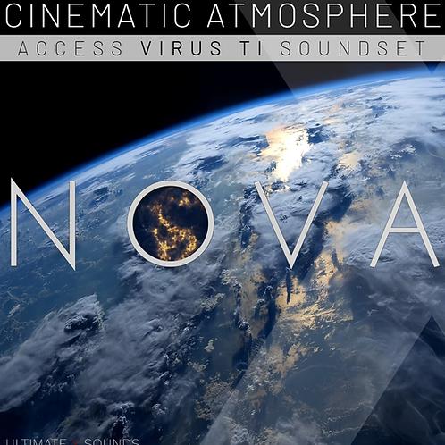 NOVA : Cinematic Atmosphere Vol.1 Access Virus Ti Soundset
