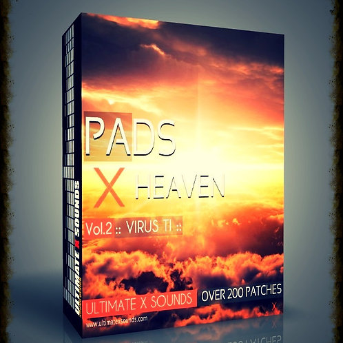 PADS X HEAVEN Vol.2 Virus TI2 / TI ​Soundset + MIDI