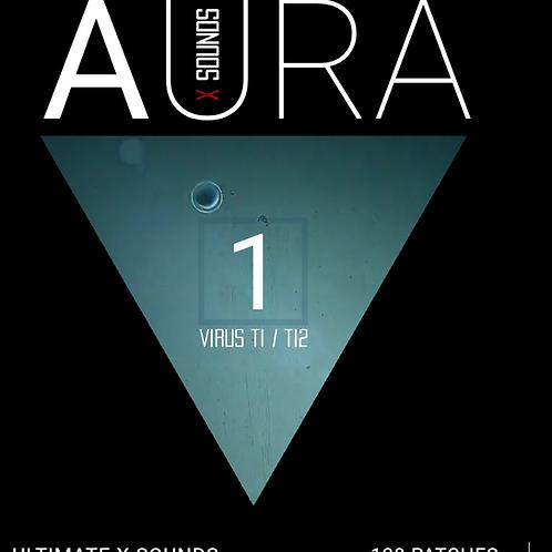 AURA X SOUNDS Vol.1 Access Virus Ti Soundset