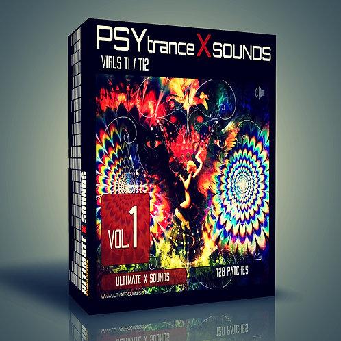 PSYtrance X Sounds Vol.1 Virus TI2 / TI Soundset