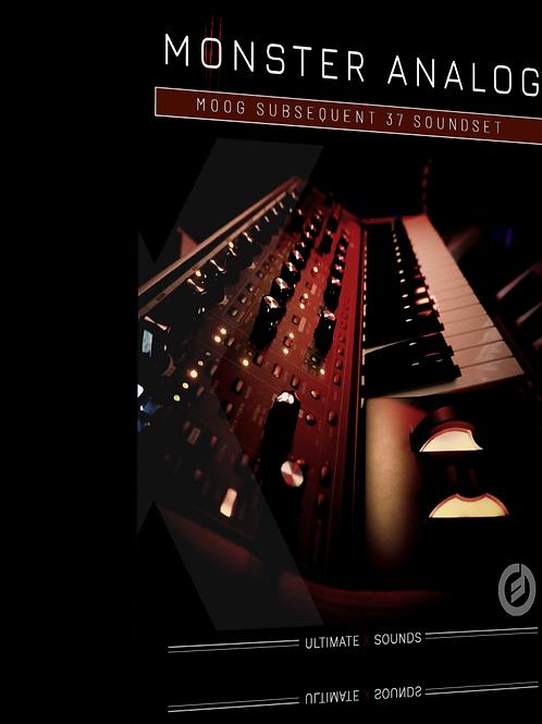 Monster Analog Vol.1 MOOG Subsequent 37 SoundSet