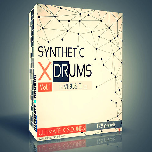 Synthetic X DRums Vol.1 Virus TI2 / TI ​Soundset ( OS5 )