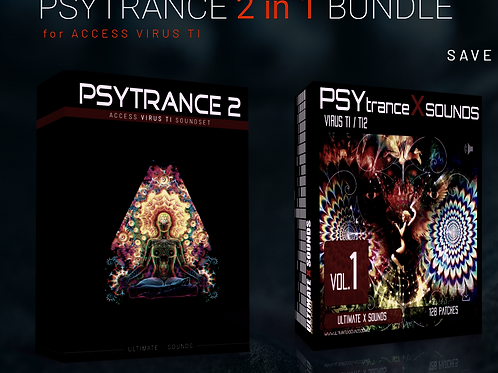 PSYTRANCE 2 in 1  - BUNDLE  PACK