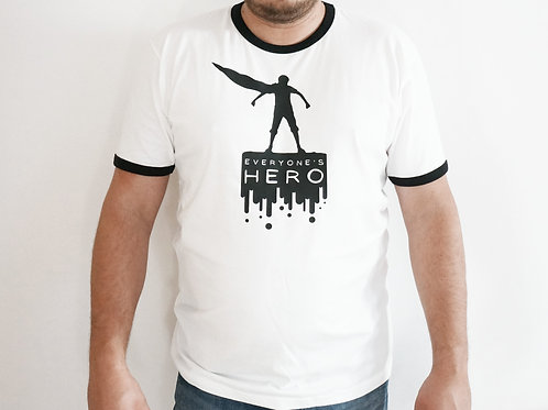 T-shirt Everyone's Hero - SW - WHITE/BIAŁY