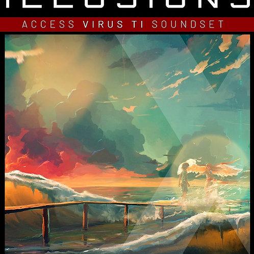"PADS X HEAVEN Vol.3 "" ILLUSIONS  ""for Access Virus TI"