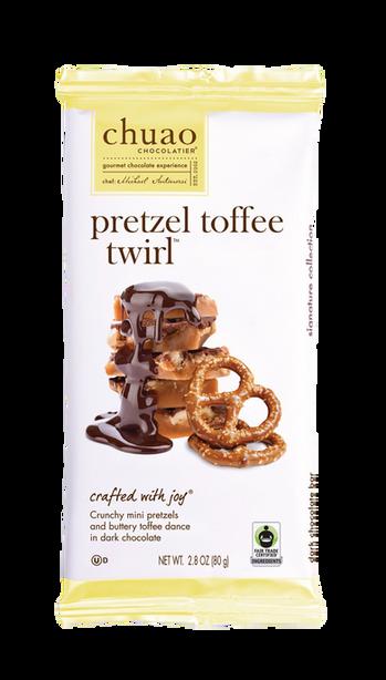 Pretzel Toffee Twirl