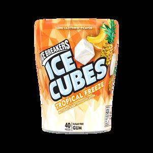 Ice Cubes Cool Orange
