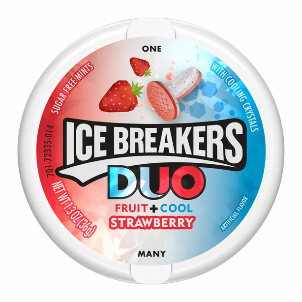 Duo Fruit + Cool Strawberry
