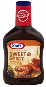 Sweet & Spicy BBQ Sauce & Dip