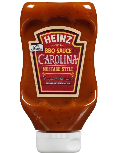 BBQ Sauce Carolina Mustard Style