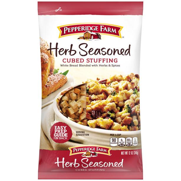 Herb Seasoned Cubed Stuffing