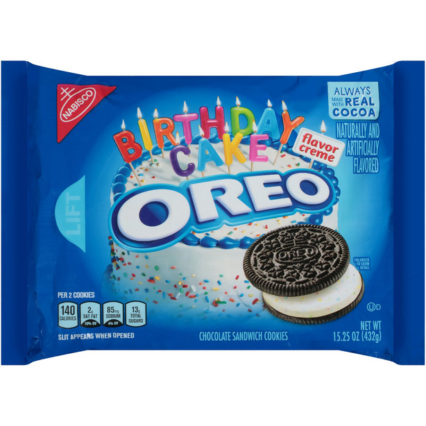 Birthday Cake Chocolate Cookies