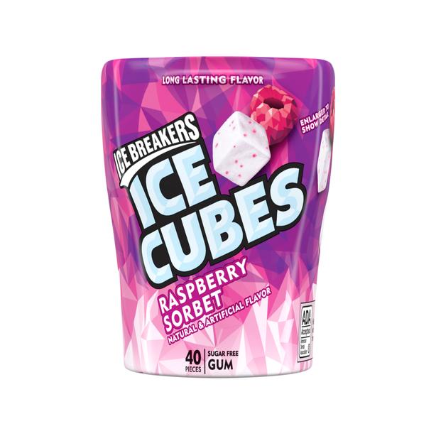 Ice Cubes Raspberry Sorbet