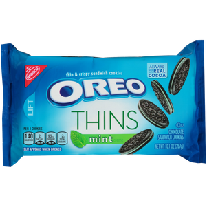 Chocolate Thins with Mint Creme