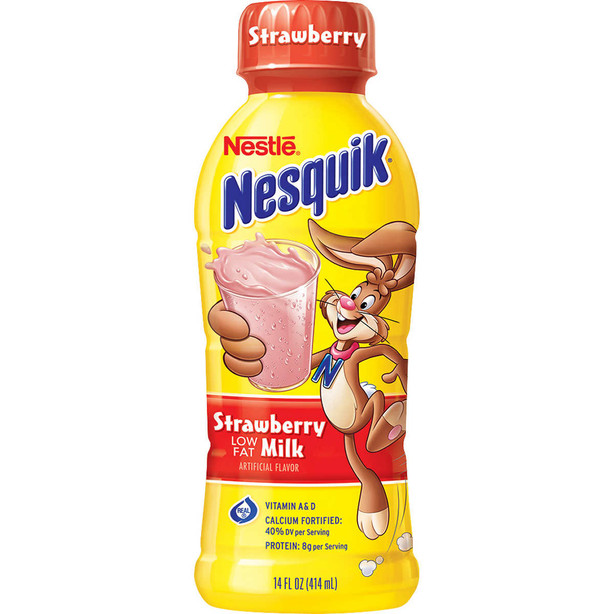 Strawberry Low Fat Milk