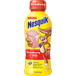Strawberry Low Fat Milk