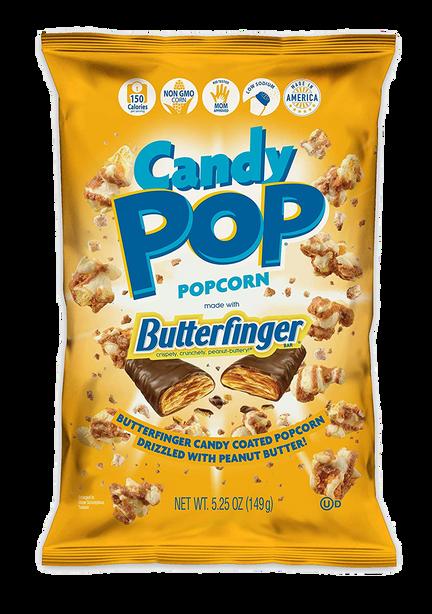 Butterfinger Coated Popcorn