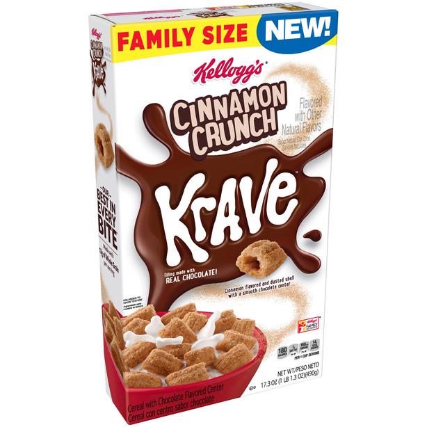Krave Cinnamon Crunch
