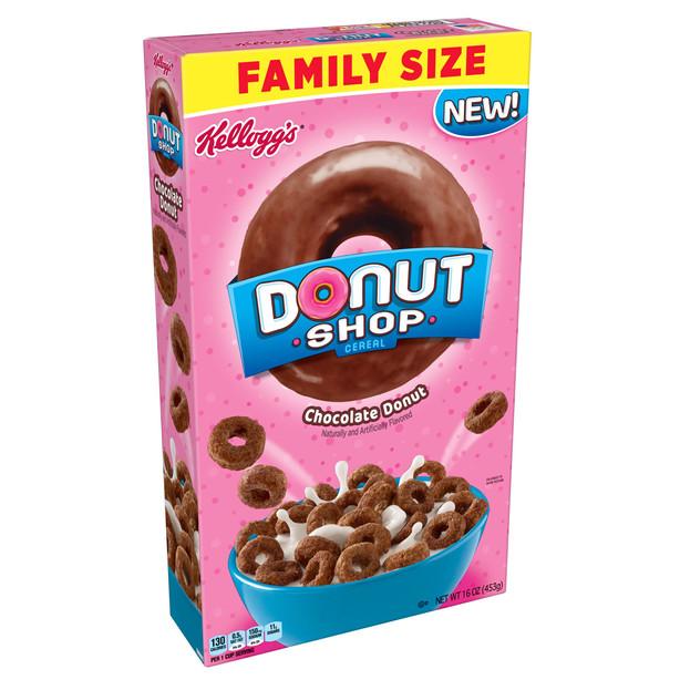 Donut Shop Chocolate Donut