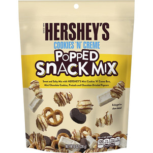 Cookies n Creme Popped Snack Mix