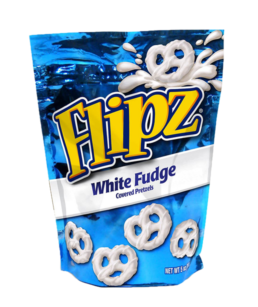 White Fudge Pretzels