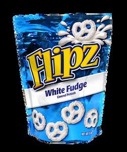 White Fudge Pretzels