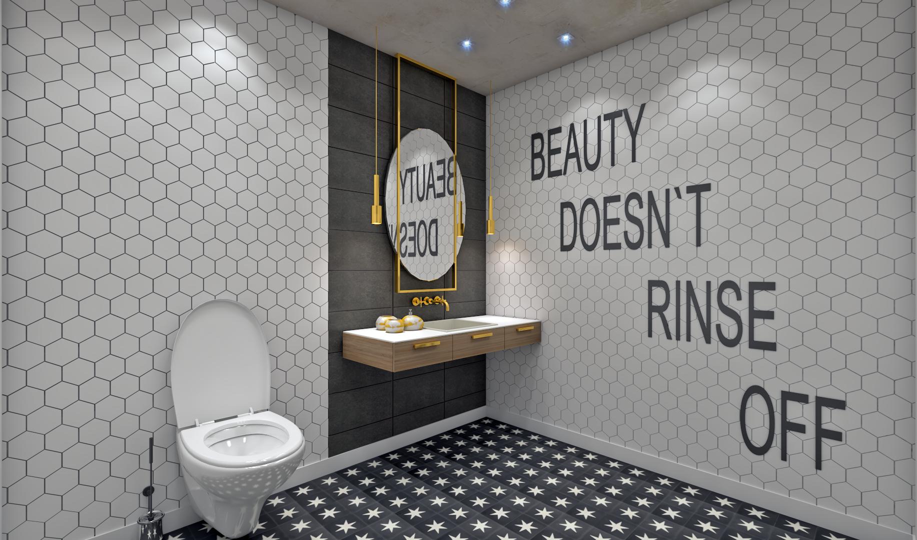 Stylish Restroom