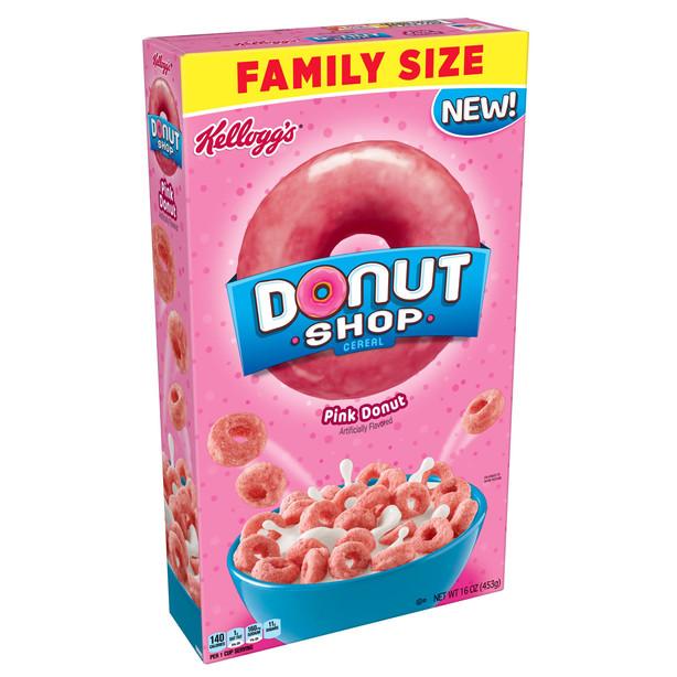 Donut Shop Pink Donut