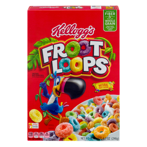 Froot Loops Natural Fruit Flavors
