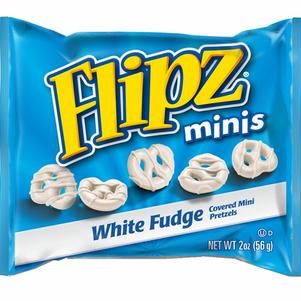 White Fudge Mini Pretzels