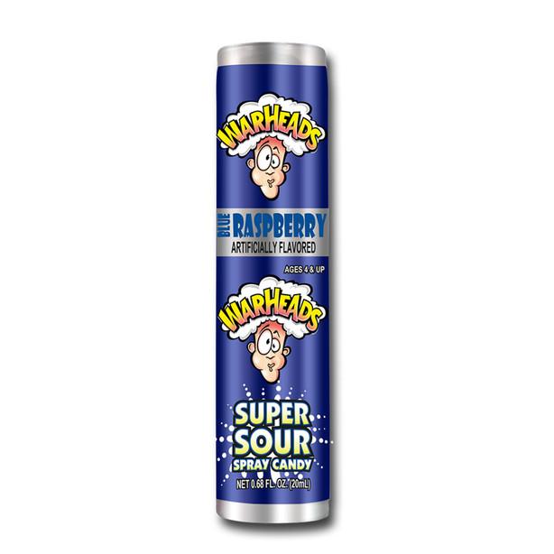 Super Sour Spray Candy Blue Raz