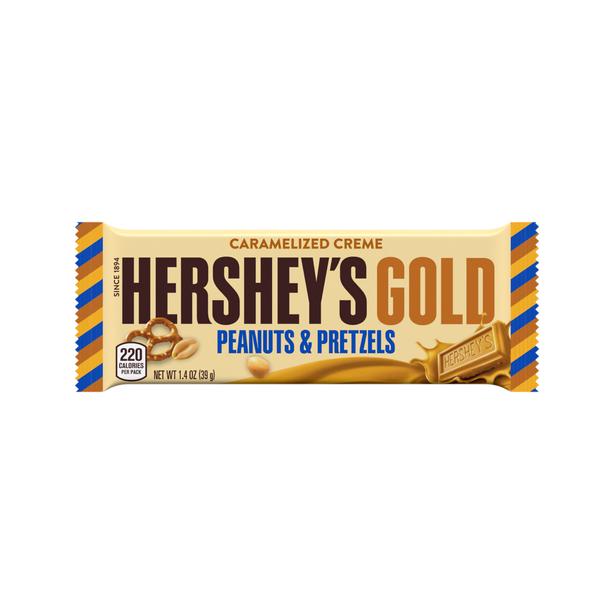 Gold Peanuts & Pretzels