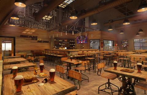 Restaurant & Bar Interior