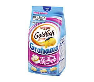 Graham Snack Vanilla Cupcake
