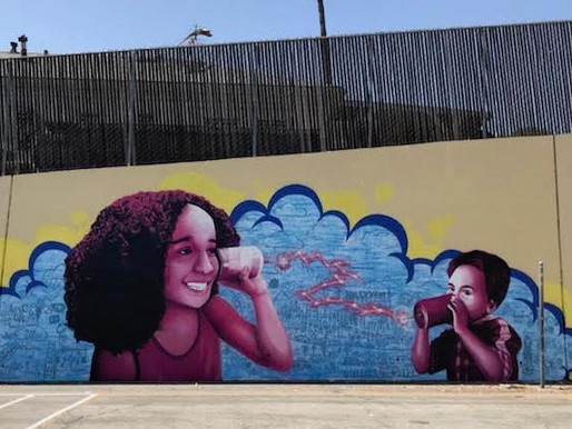 Mural Installed at Mayberry Street Elementary School