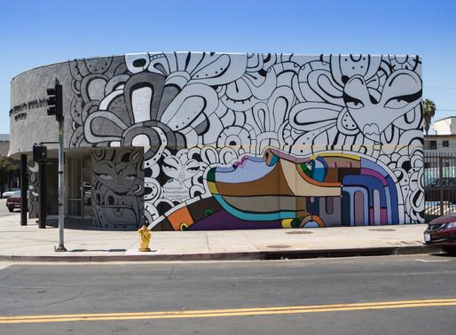 Zappos' 10 Core Value Mural Campaign