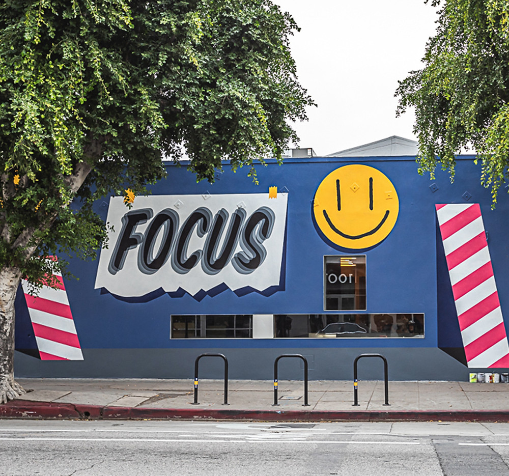 Mural in Los Angeles by by Ornamental Conifer for Lexus