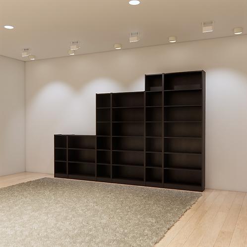 Bookcase Parametric Revit Furniture Family