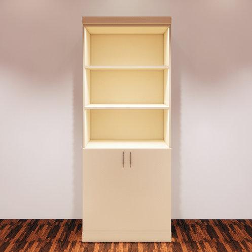 Retail Display with Doors Custom Parametric Revit Furniture Family