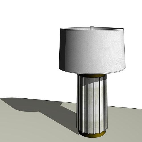 Alabaster Table Lamp Revit Lighting Fixture Family