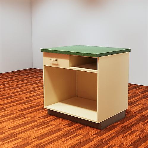 Retail Register Counter Custom Parametric Revit Furniture Family