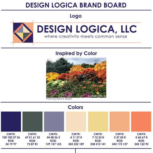 Interior Designer Brand Board