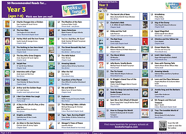 Best books for Year 3 List