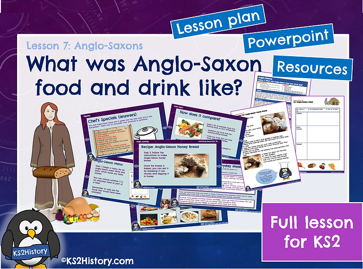 7. What was Anglo-Saxon food and drink like?