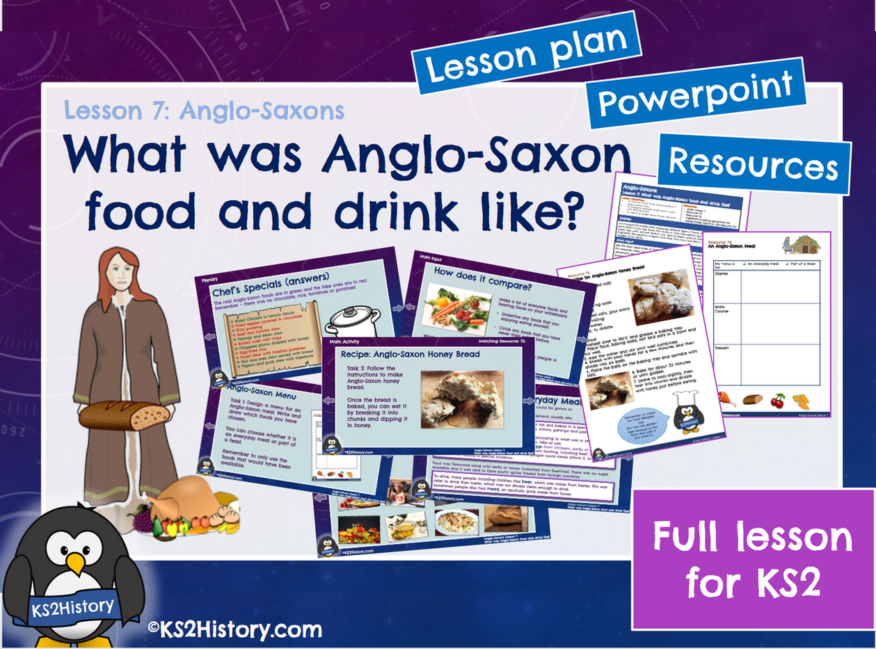 Lesson 7 Anglo-Saxons