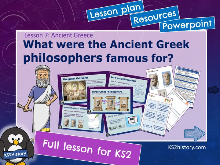 What were the Ancient Greek philosophers famous for?
