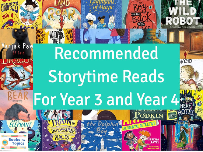 storytime reads for year 3 and year 4.jp